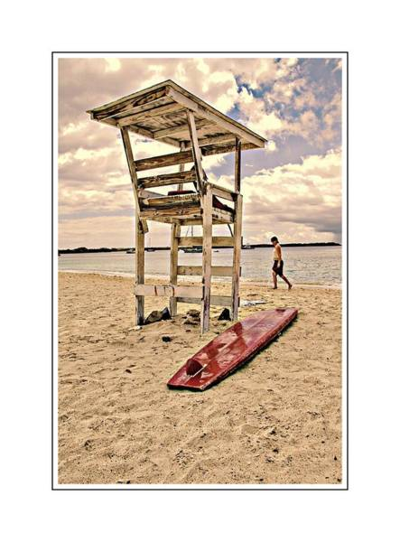 Photograph - Red Surfboard by Alice Gipson