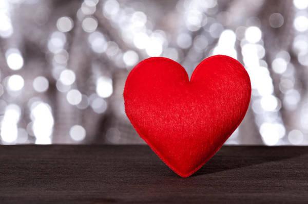 Photograph - Red Valentine Heart by U Schade