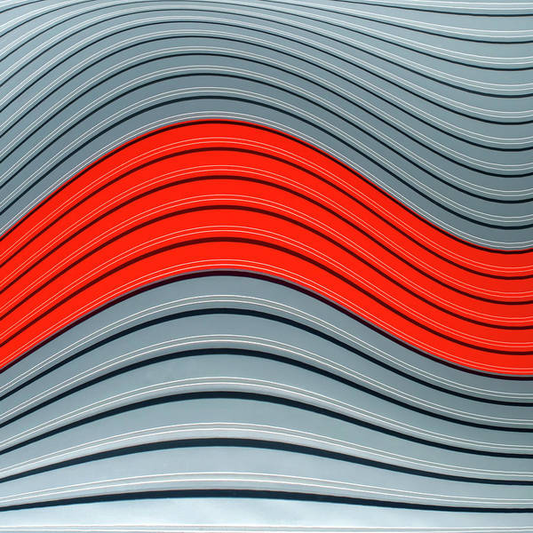 Wall Art - Photograph - Red Wave by Luc Vangindertael (lagrange)