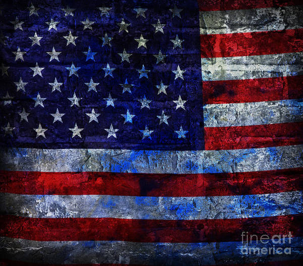Wall Art - Photograph - Red White And Blues by John Stephens
