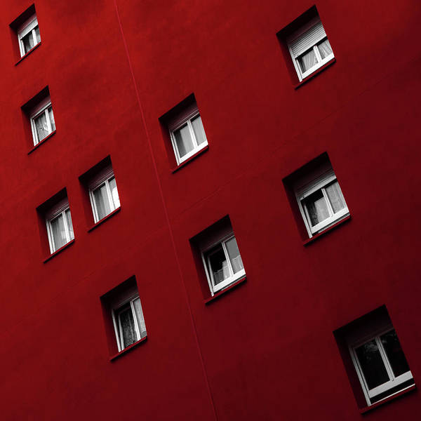 Wall Art - Photograph - Red White Combi by Gilbert Claes