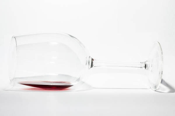 Photograph - Red Wine. by Gary Gillette