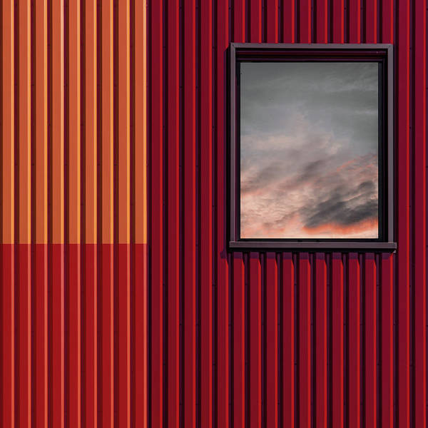 Wall Art - Photograph - Red With A Touch Of Sky by Luc Vangindertael (lagrange)