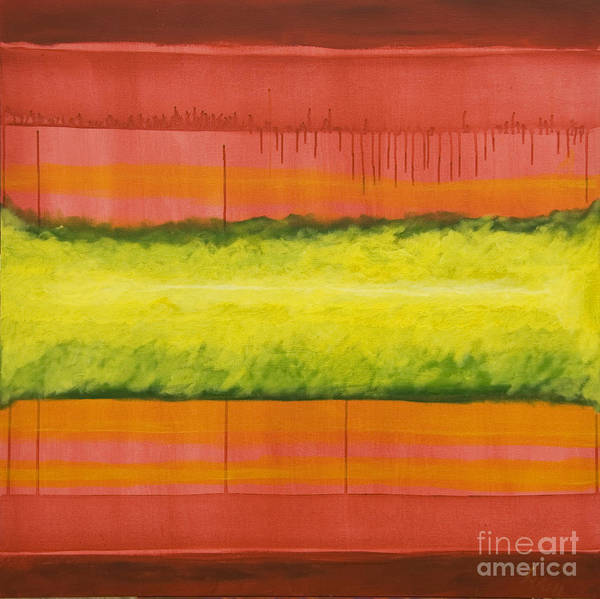 Painting - Red Yellow And Green by James Lavott