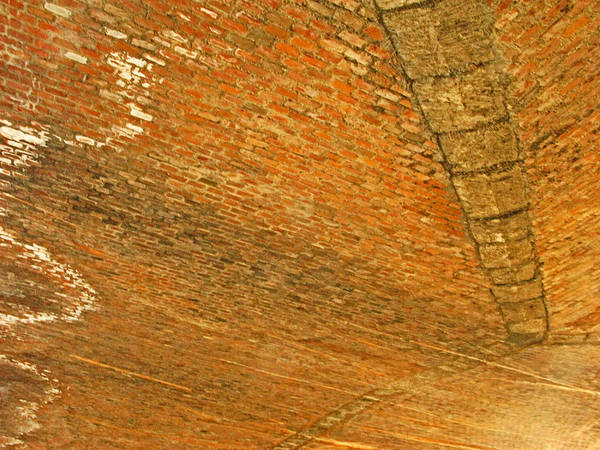 1604 Photograph - Redbrick Ceiling by Pete Marchetto