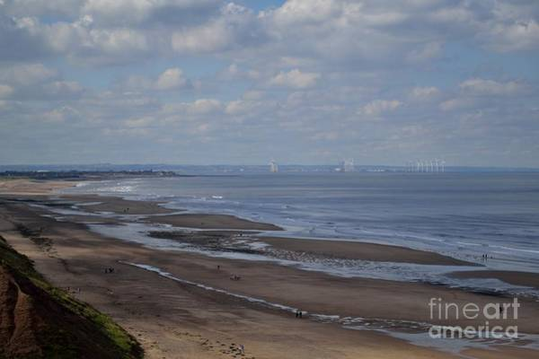 Redcar From A Distance Art Print
