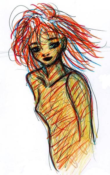 Redhead I Art Print