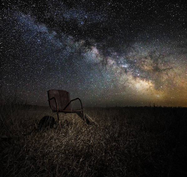 Field Digital Art - Redneck Planetarium by Aaron J Groen