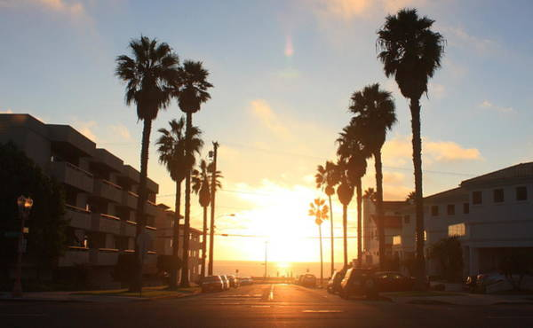 Photograph - Redondo Beach Sunset by Daniel Schubarth