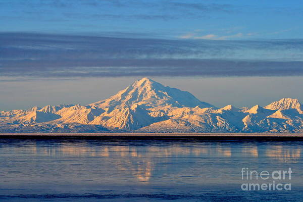 Mount Redoubt Photograph - Redoubt by Rick  Monyahan
