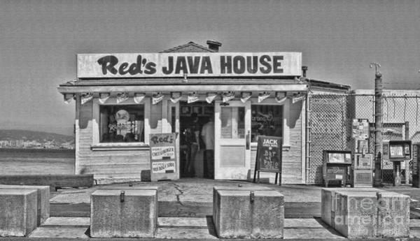 Photograph - Red's Java House San Francisco By Diana Sainz by Diana Raquel Sainz