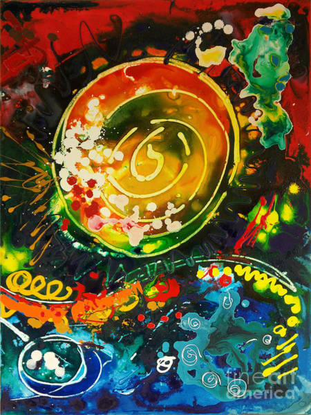Redshift Canvas 3 Art Print