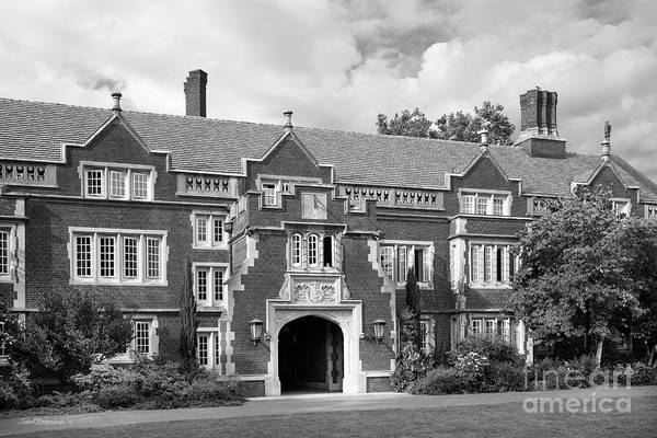 Photograph - Reed College Old Dorm Block by University Icons