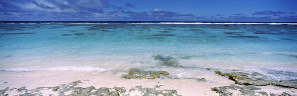Rarotonga Photograph - Reef, Rarotonga, Cook Islands, New by Panoramic Images