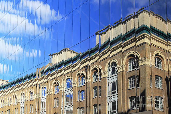 Reflected Building London Art Print