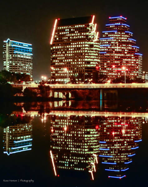 Photograph - Reflecting On Austin by Ross Henton