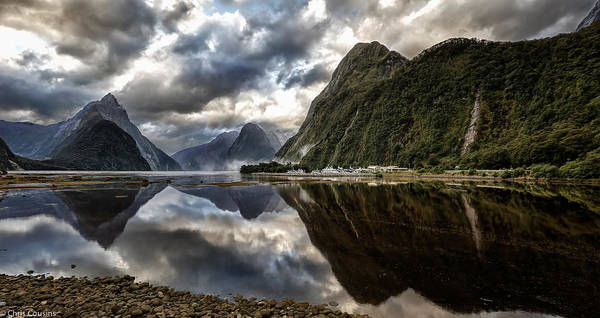 Photograph - Reflecting On Milford by Chris Cousins