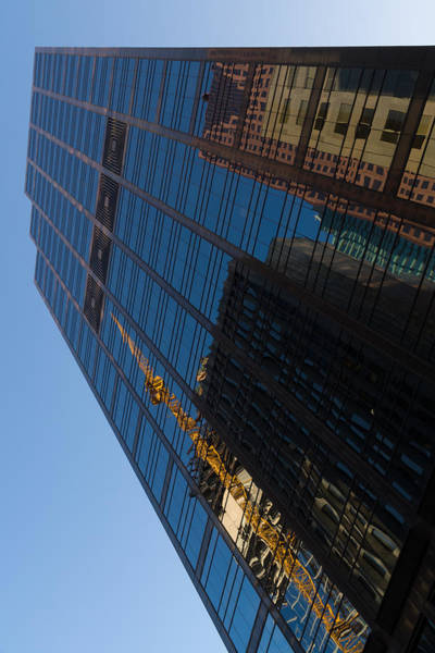 Photograph - Reflecting On Skyscrapers - Downtown Affection by Georgia Mizuleva