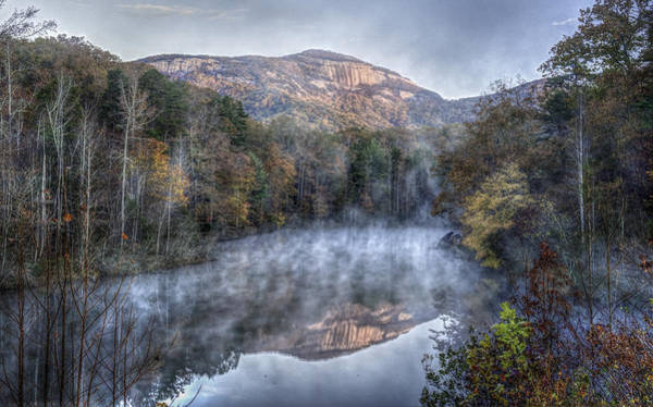 Photograph - Reflection And Fog by David Waldrop