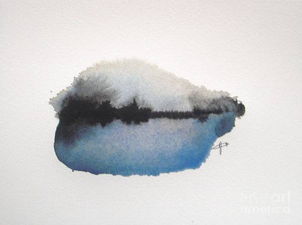 Abstract Painting - Reflection In The Lake by Vesna Antic