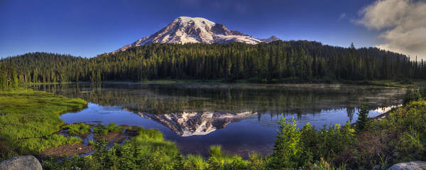 Wall Art - Photograph - Reflection Lake Panorama by Mark Kiver