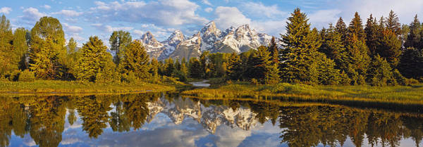 Schwabacher Photograph - Reflection Of Mountains On Water by Panoramic Images