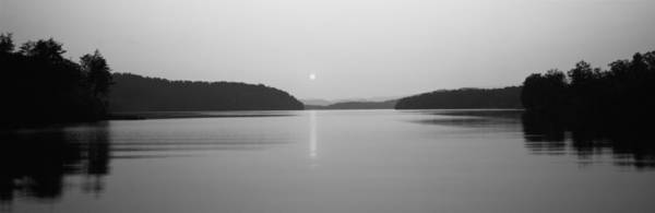 Peacefulness Photograph - Reflection Of Sun In A Lake, Lake by Panoramic Images