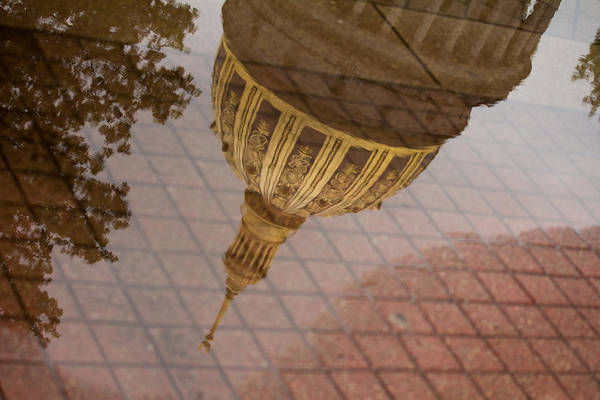 West Virginia Photograph - reflection of WV by Shane Holsclaw