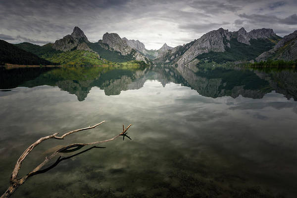 Clear Water Photograph - Reflection by Oskar Baglietto