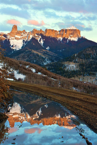 Photograph - Reflection Road by Rick Wicker