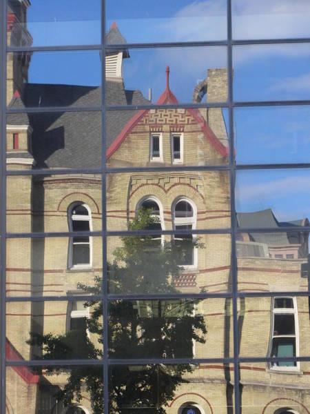 Photograph - Reflection Turner Hall 2 by Anita Burgermeister