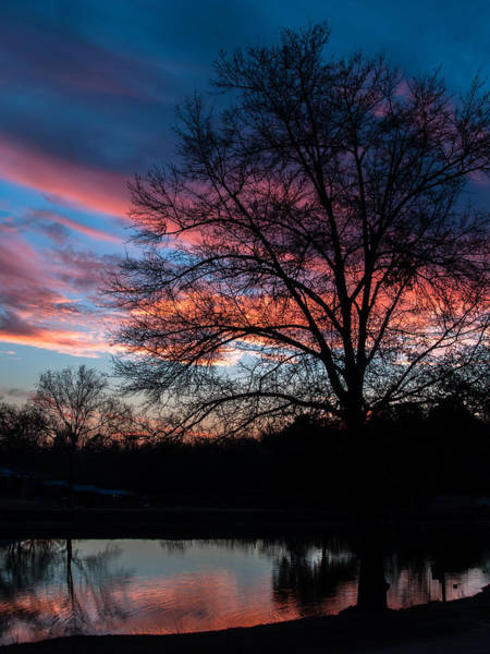 Photograph - Twilight Reflections by Charles Hite