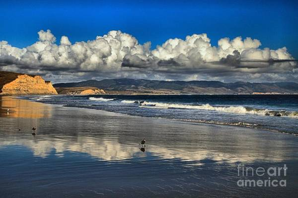Photograph - Reflections At Drakes Beach by Adam Jewell