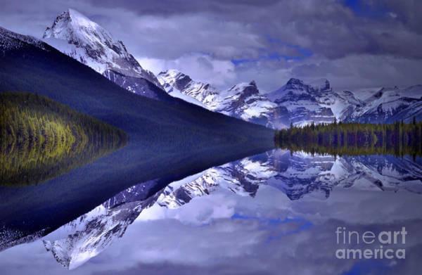 Photograph - Reflections At Maligne Lake by Tara Turner