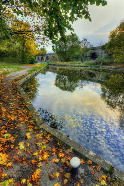 Photograph - Reflections At The Canal by Ian Mitchell