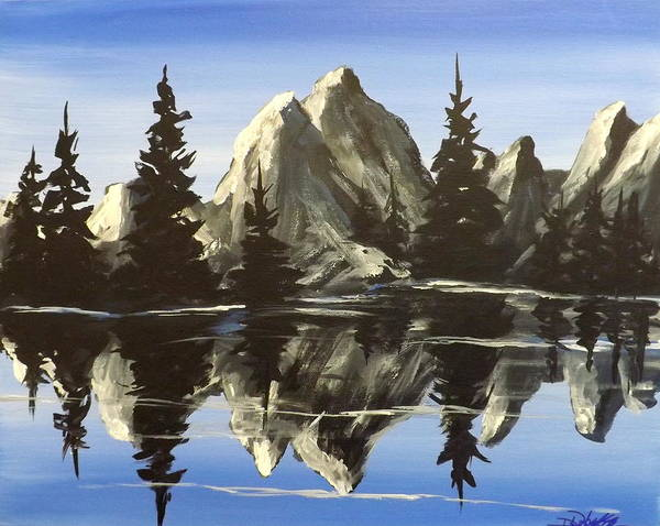 Painting - Reflections by Darren Robinson