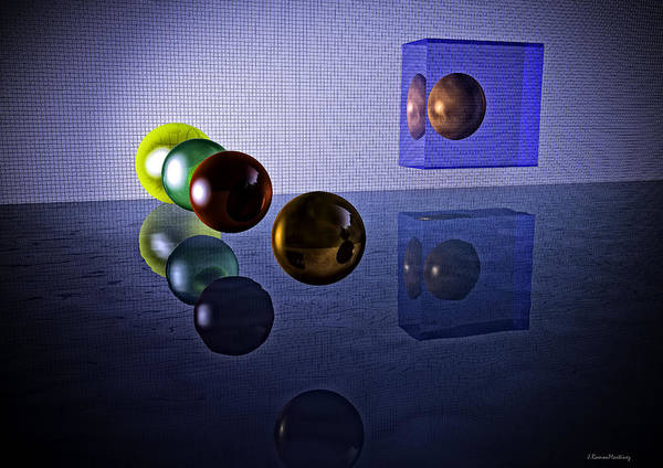 Reflections Digital Art - Reflections I by Ramon Martinez