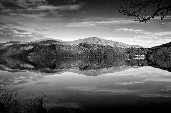 Photograph - Reflections In Loch Lomond by Stephen Taylor