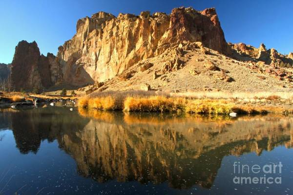 Reflections In The Crooked River Art Print