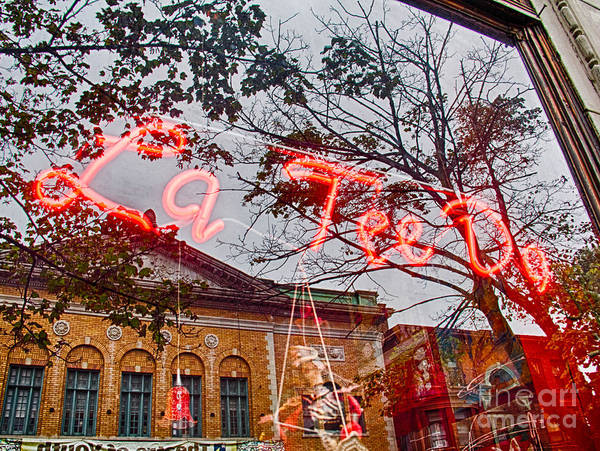 Photograph - Reflections In The Window by Jim Lepard