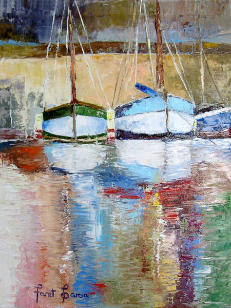 Painting - Reflections by Janet Garcia