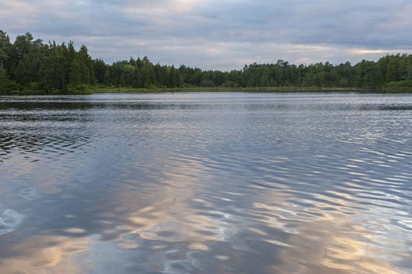 Lakehurst Photograph - Reflections Lake Horicon Lakehurst Nj by Terry DeLuco