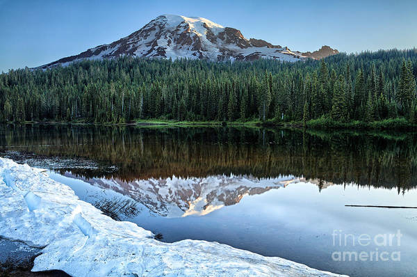 Photograph - Reflections Lakes At Sunrise by Stuart Gordon