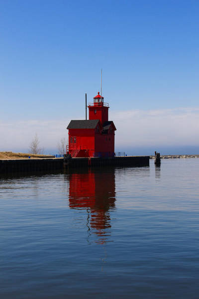 Holland Mi Wall Art - Photograph - Reflections Of Big Red by Rachel Cohen