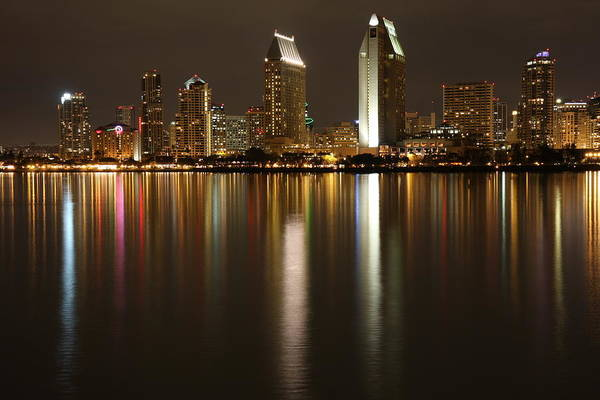Photograph - Reflections Of Downtown San Diego by Nathan Rupert