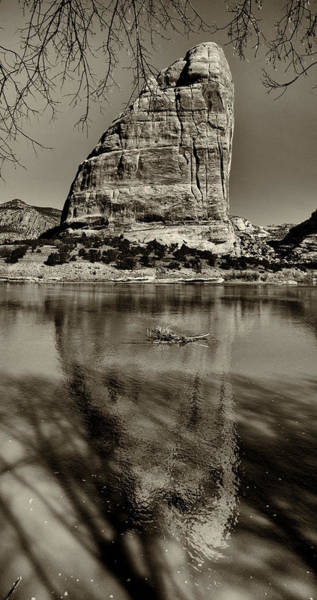 Dinosaur National Park Photograph - Reflections Of Echo Park by Joshua House