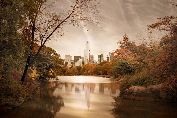 Photograph - Reflections Of Gotham by Jessica Jenney