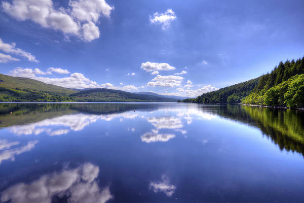 Photograph - Reflections Of Loch Tay by Matt Swinden