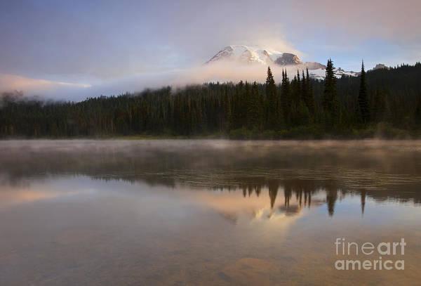 Mt. Washington Photograph - Reflections Of Majesty by Mike  Dawson