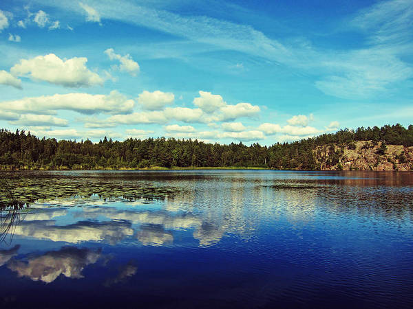 Skyscape Photograph - Reflections Of Nature by Nicklas Gustafsson
